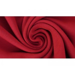 jersey Uni bio Rot Lillestoff rouge
