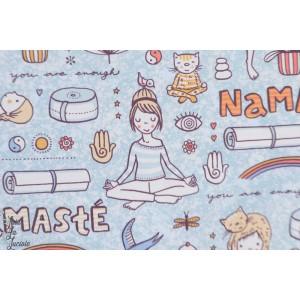 Popeline Bio SUSAlabims Yoga Lillestoff femme namasté