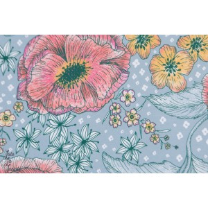 Jersey bio Blumentraum mintkoralle SUSAlabim Lillestoff