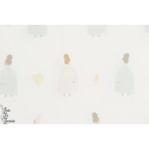 Popeline coat Ladies Blanc Cotton and Steel