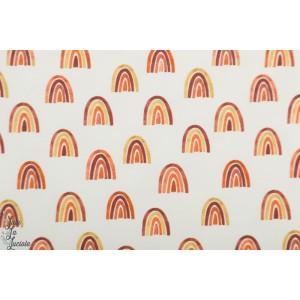 jersey Springbow Family fabrics rainbow arc en ciel graphique retro