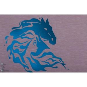 Panneau Jersey Frozen 2 reine des neiges cheval nok fille princesse disney