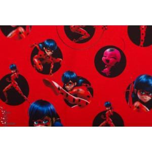 Jersey ladyBug Rot miraculous fille rouge enfant