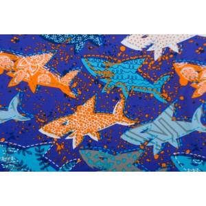 Swim and Sport dents de la mer bleu requin poisson maillot de bain enfant bleu