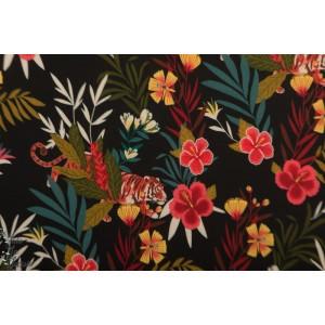 Viscose Colourful Jungle Atelier Jupe