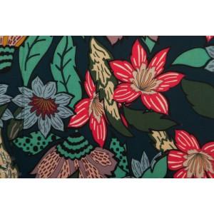 Viscose large Flower Atelier Jupe