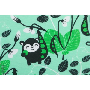 jersey Bio Paapii Peas mint Green vert petit pois enfant