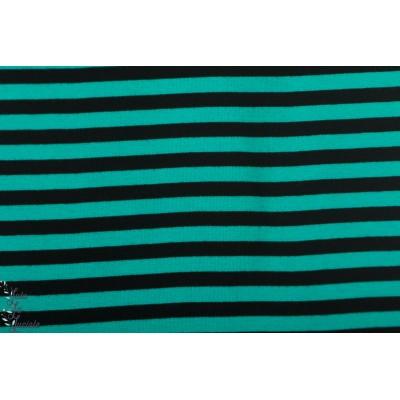 Bord Cote Rayé turquoise noirbio paapii