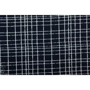 Jersey Bio Like a grid Noir Stoffonkel graphique noir