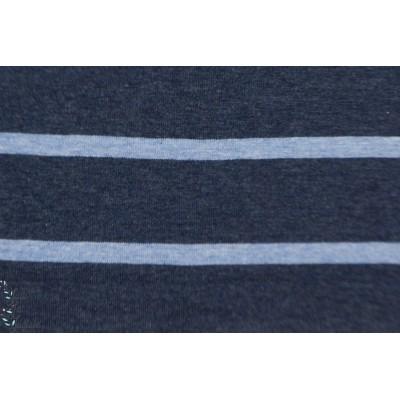 Jersey Rayé Hilco large rayure marin bleu