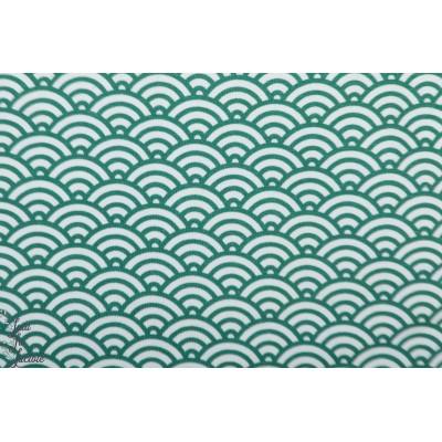 Jersey Wasabi Smarag graphique soleil vert japon