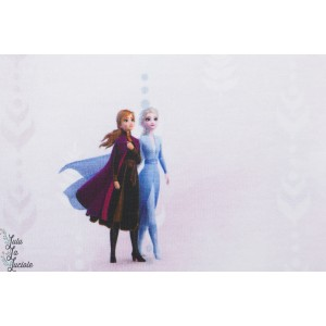 jersey imprimé Frozen 2 reine des neiges licence disney elsa anna olaf