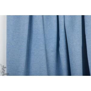 État : Neuf  jersey jacquard Bio ALB Summer Melange Bluette Meringua