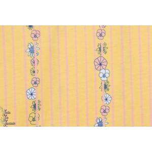 jersey Bio Weaving flowers Chat Chocolat