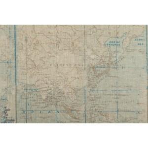 Linenlook Half Panama World Map