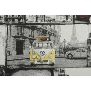 Jacquard Double Face VW Loves Paris