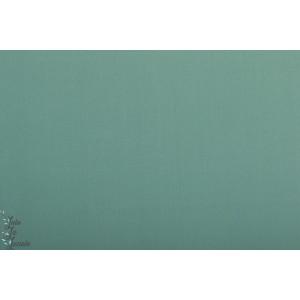 Popeline Unie Spruce AGF pure erlement vert