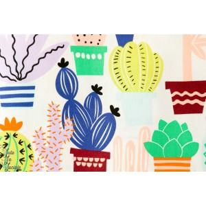 Popeline cactus - June bug Alexander Henry Fabrics design art peinture