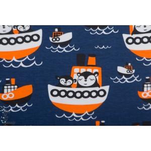 Jersey Bio Paapii Wilson blueberry  bateau mer bleu