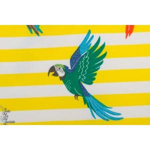 Jerey Parrots glitter yellow marinnière