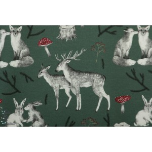 Jersey Bio Secret Forest green Tygdrobromar animaux amour forêt