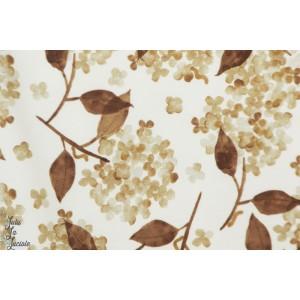 French terry Hortensia Blush  Family Fabrics