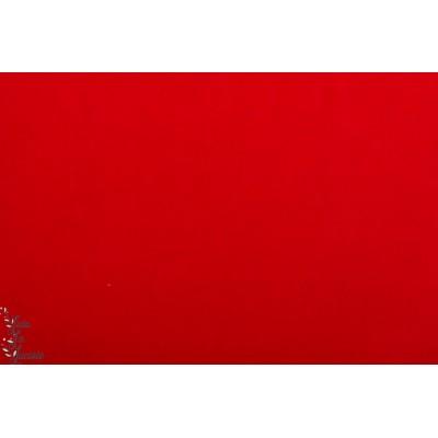 Velours Minky ras rouge hilco