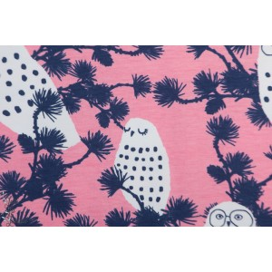 Jersey Bio Paapii Snowy  Owl Light pink biueberry