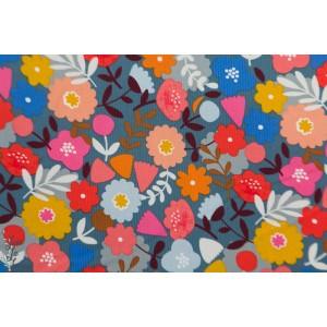 "Velours Milleraie Dashwood ""meadow Safari CORD1743"" fleurs"