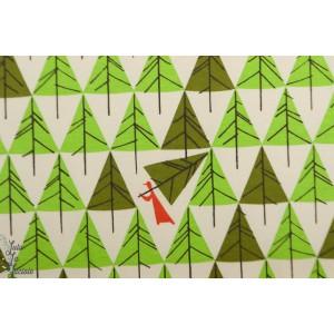 jersey interlock  bio Birch geo Trees