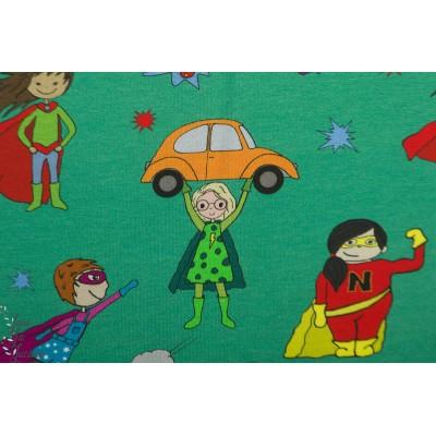 Jersey bio Supergirl Emerald tygdrommar