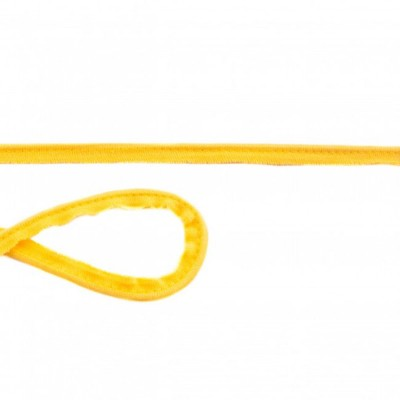 Passepoil Elastique jersey jaune au mètre