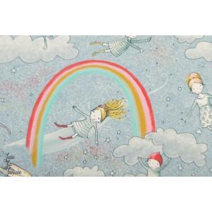 Jersey Bio Am Ende Des Regenbogens fee licorne susalabim fille arc en ciel