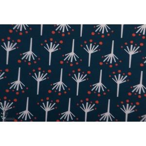Popeline Bio Firecracker from Modern Love By Monaluna Fabrics