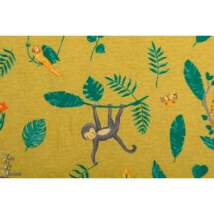 Jersey Bio poppy swinging Monkeys jaune singe