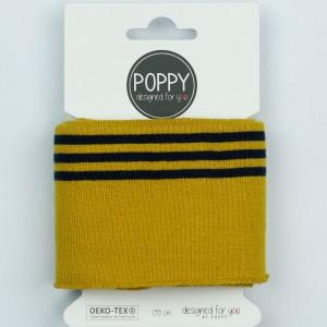 Cuff Poppy 8191- col014 ochre noir