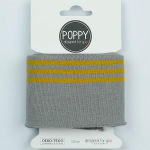 Cuff Poppy 8191- col 003 gris /ochre