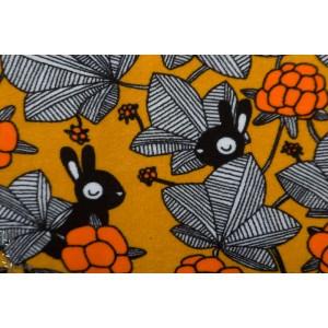 Terry Strech - Eponge sweat -  Paapii Hilda orange ochre