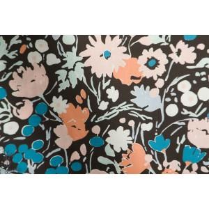"""Popeline Bio BIRCH ''Kitty garden""""""""by Jenny Ronen"""