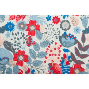 Jersey digital Leaves and Berrie MeganBlue