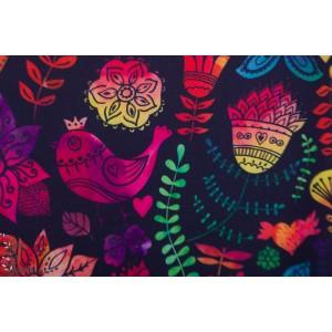 Softshell Animaux multicolore fond noir