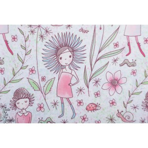 Jersey Bio Blumenmädchen Lillestoff Susalabim