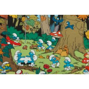 jersey Autumn Forest Smurf Vintage in my heart