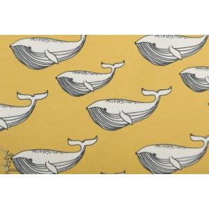 Jersey Bio Whale gold Elvelyckan Design