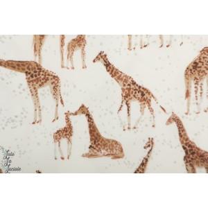jersey Giraffe Family Fabrics