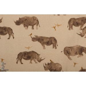 jersey Rhino Family Fabrics