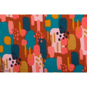 Sweat brosse Bio Poppy couleurs - Brique