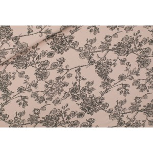 Sweat french terry SYAS Cherry Blossom - pale Pink