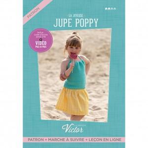 Patron couture enfant Jupe fille POPPY ALLEMAND maison victor