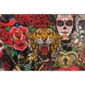 velours Velvet  Tattoo Prints